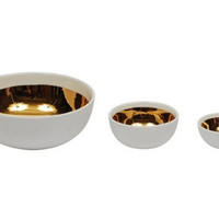 canvas — Dauville Handmade Gold Glazed Bowls