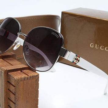 Gucci sunglass AA Classic Aviator Sunglasses, Polarized, 100% UV protection 2974244986 GG4242