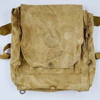 Vintage Collectible Boy Scouts of America Back Pack no 573 Haversack backpack