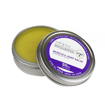CBD Muscle and Joint Salve for your comfort and relaxation