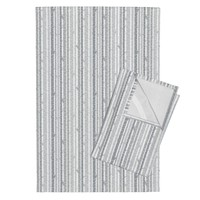 Orpington Tea Towels featuring Birch Trees Gray on White Background by googoodoll