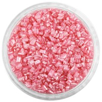 Pearly Rose Red Chunky Sugar