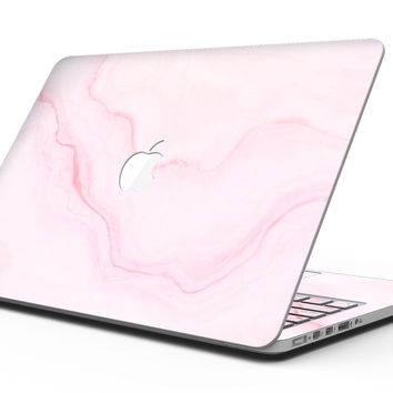 Marble Surface V1 Pink - MacBook Pro with Retina Display Full-Coverage Skin Kit
