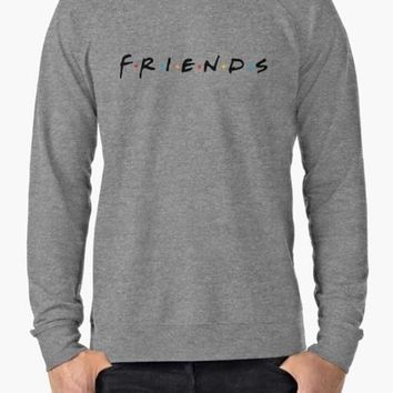 Friends (TV Show) Gray Sweat Shirt