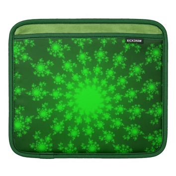 Bright Green Eye iPad Sleeve
