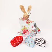 Kids and baby toy set Stuffed bunny doll sett bunny, skirt and bag Sunny bunny set rabbit plush rabbit bunny doll stuffed toy