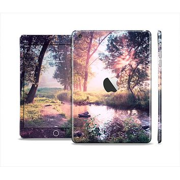 The Vivid Colored Forrest Scene Skin Set for the Apple iPad Mini 4