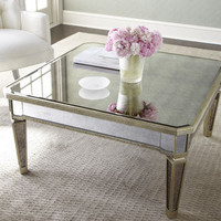Mirrored Coffee Table - Horchow