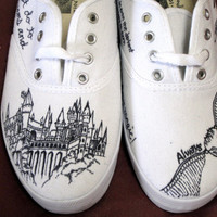Custom Harry Potter Canvas Sneaker