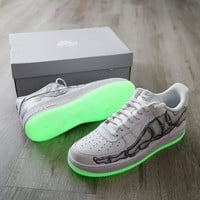 NIKE AIR FORCE 1 DUNR Painting graffiti Air Force 1 casual shoes