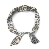Leopard Print Headband, Leopard Print Hair Band, Pin Up Girl, Animal Print, Wire Head band, Bunny Ear, Women, Hair Accessory, Gift for Her,