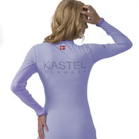 Kastel Denmark Charlotte Studio Krystal UV Shirt Light Blue with Light Blue Trim