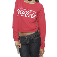 Enjoy Coca-Cola Sweatshirt | Shop Just Arrived at Wet Seal