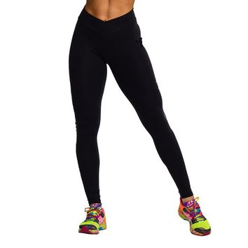 S-XL 5 Color Women's Workout Leggings Candy Colors High Fluorescence V-Waist Stretch Spandex Leggings Women Clothing