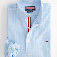 Edgartown Stripe Tucker Shirt