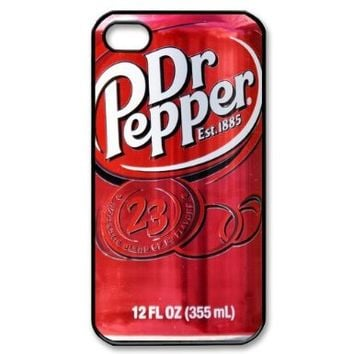 Dr Pepper Bottle Drink Personalized Iphone 4/4s Case