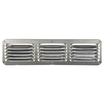 "Lomanco® C416 C-Series Under Eave Cornice Vent, 4"" x 16"", Mill"