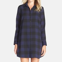 Women's BB Dakota 'Cotter' Plaid Shirtdress,