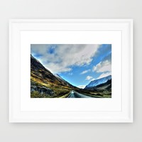Road Framed Art Print by Haroulita | Society6