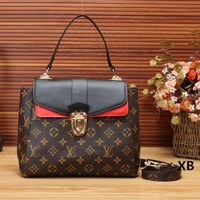 LV Women Leather Satchel Crossbody Tote Handbag Shoulder Bag