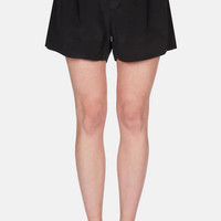 Toteme — Nairobi Shorts Black — THE LINE