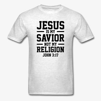 Jesus Is My Savior | Christian | Faith | Religious T-Shirt | Christian Life Apparel