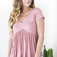 New Life Babydoll Top