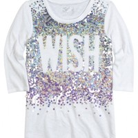 Sequin Tunic Tee
