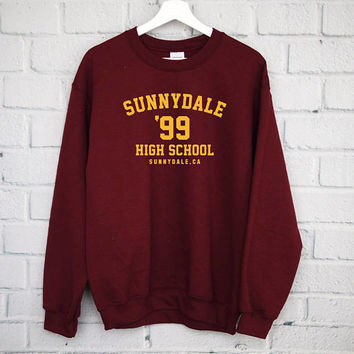 Sunnydale High School Sweatshirt, Buffy The Vampire Slayer Shirt, Buffy Shirt, Sunnydale Tshirt, Sunnydale Razorbacks, Sunnydale Sweatshirt