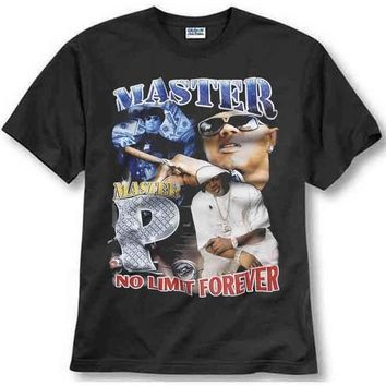 ca auguau MASTER P NO LIMIT FOREVER INSPIRED TEE RAPPER RNB RAP T SHIRT