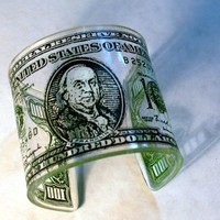 Jewelry - One Hundred Dollar Bill Cuff | UsTrendy