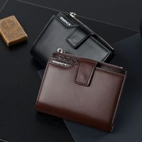 Men Korean Multi-function Zippers Wallet [10762733827]