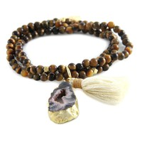 Fortune Told Bracelet in Tiger's Eye and Gold