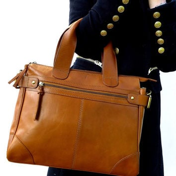 Tan Leather Bag/ Tan Leather Handbag/ Leather Purse/ Leather Tote/ Tan Leather Purse