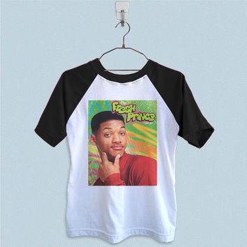 Raglan T-Shirt - Will Smith The Fresh Prince of Bel Air