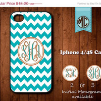 20% OFF SALE Personalized iPhone 4 Case - Plastic iPhone case - Rubber Silicone iPhone case - Monogram iPhone case - iPhone 4s case - MC075