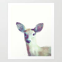 Whitetail No. 1 Art Print by Amy Hamilton