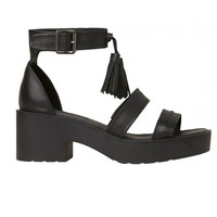 Windsor Smith - Chunk Sandal - Black