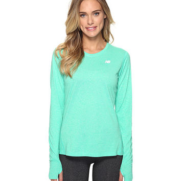 New Balance Heathered Long Sleeve Shirt