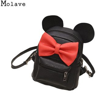 Mickey Backpack w/ Bow