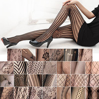 Sexy Black Fishnet Pattern Tights