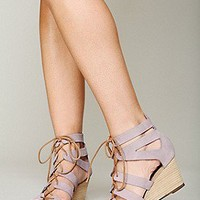 Free People  Lace Cradle Mini Wedge at Free People Clothing Boutique