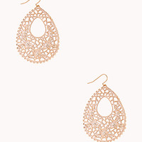 Pretty Filigree Drop Earrings