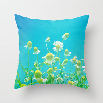 Oh, Happy Day! Throw Pillow by Shawn Terry King