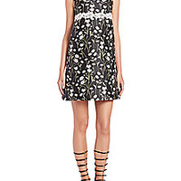 Giambattista Valli - Floral Jacquard Dress - Saks Fifth Avenue Mobile