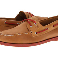 Sperry Top-Sider A/O 2-Eye Neon Sahara/Neon Red - Zappos.com Free Shipping BOTH Ways
