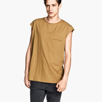 H&M - T-shirt with Chest Pocket -