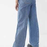 BDG Lisa High-Rise Tapered Wide Leg Jean - Tinted Denim | Urban Outfitters