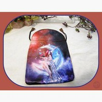 """Magickal Moon Fairy"" Tarot Bag"