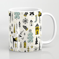 Wonderland Coffee Mug by heatherduttonhangtightstudio